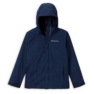 NWT Columbia Boy's Watertight Packable Rain Jacket